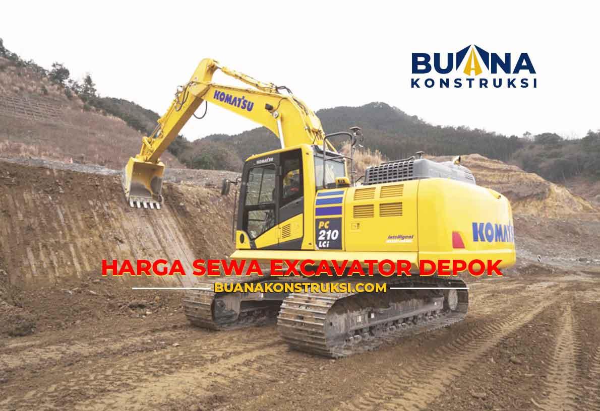 Harga Sewa Excavator Depok