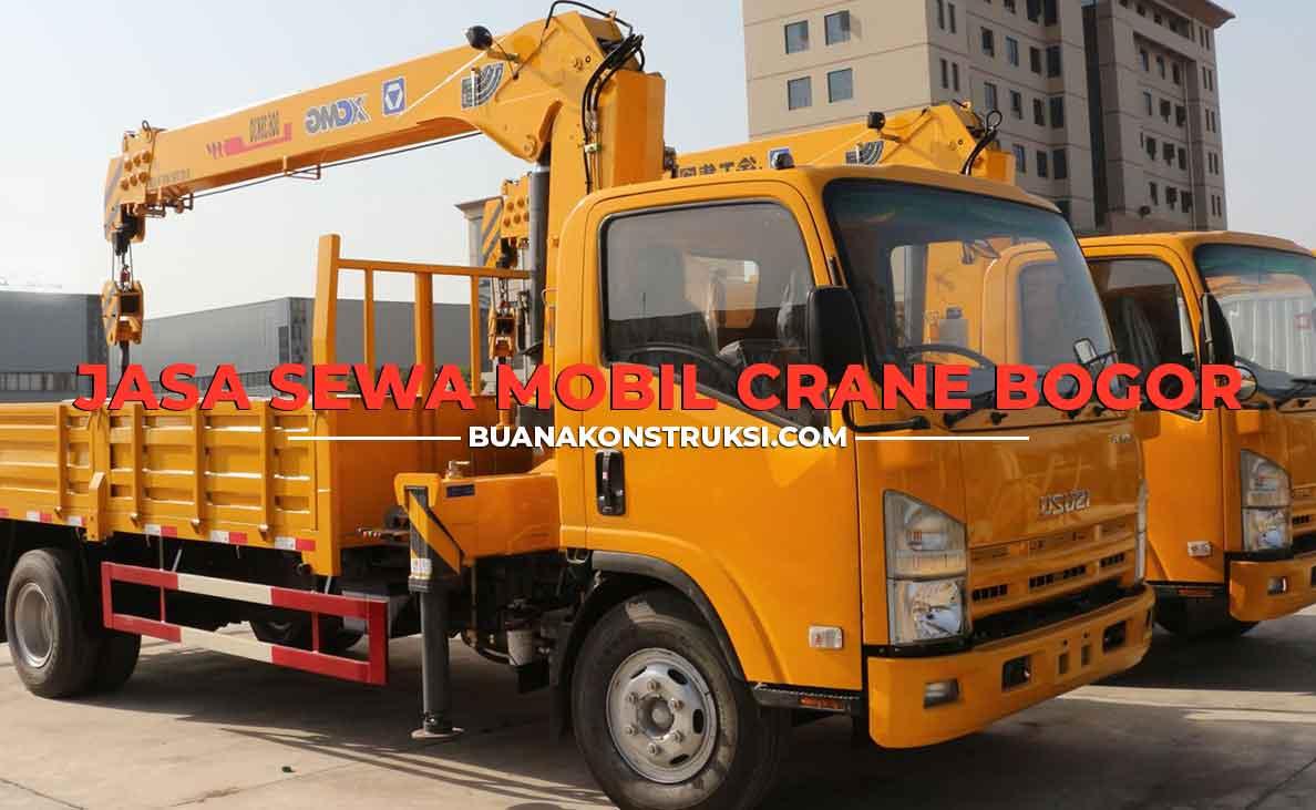 Harga Sewa Crane Bogor