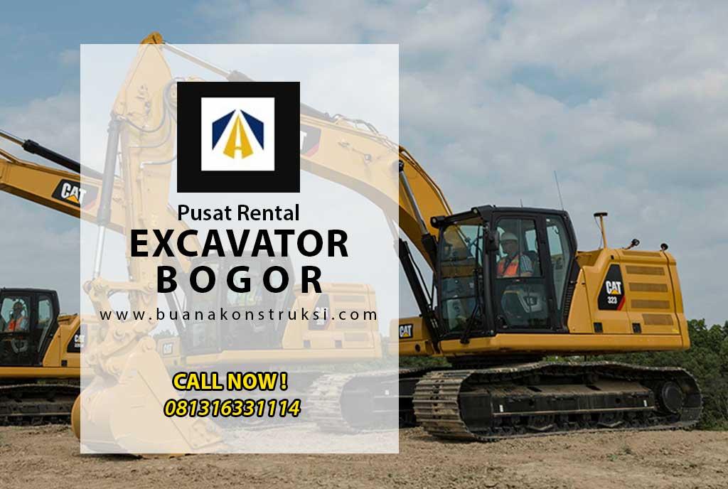 harga sewa excavator bogor