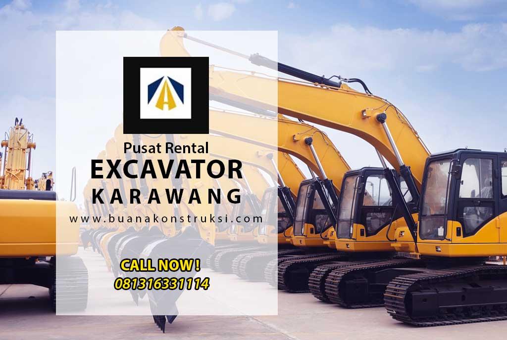 Harga Sewa Excavator Karawang