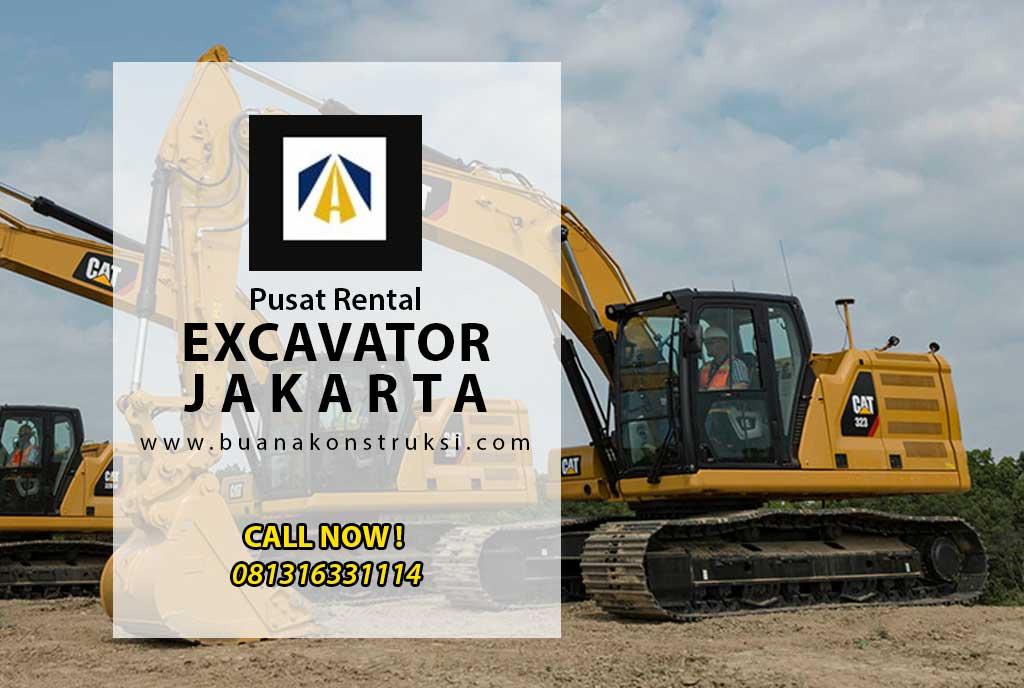 Harga Sewa Excavator Jakarta