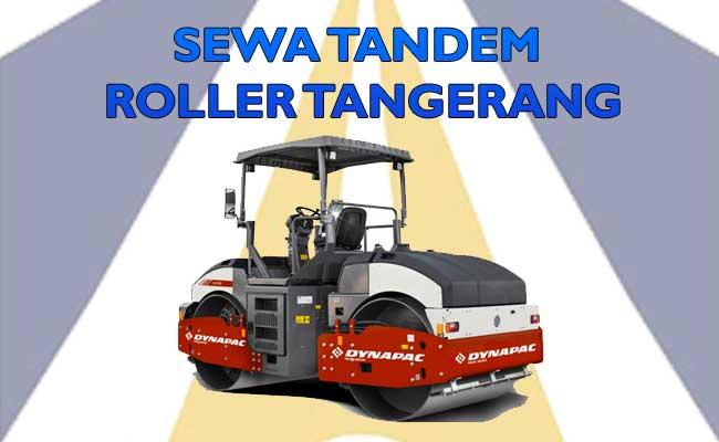 Sewa Tandem Roller Tangerang